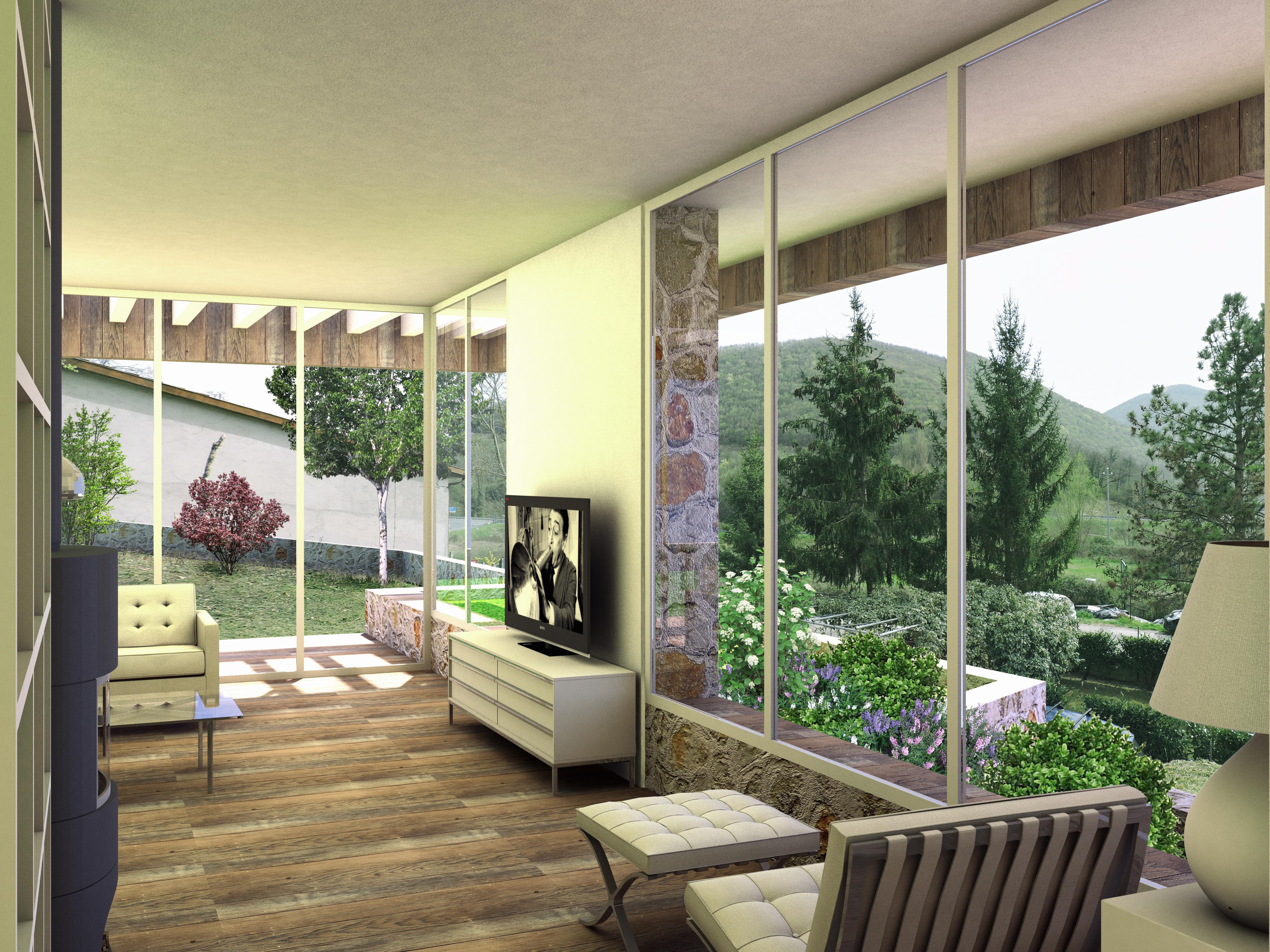 Ampliamento casa r c leggiana studio di architettura a foligno - Ampliamento casa ...